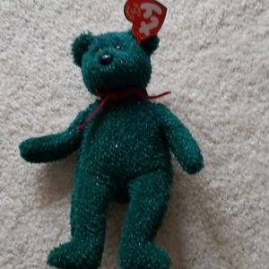Ty 2001 holiday teddy